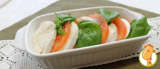 Итальянская закуска — «Капрезе»