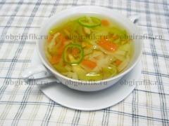 5. Разлив по порционным тарелкам, Боннский суп подают.