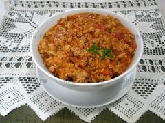9. Сытный, мясной соус болоньез готов!