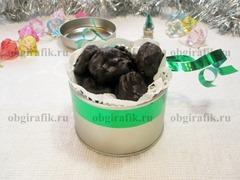 9. Шоколадные конфеты из банана готовы!