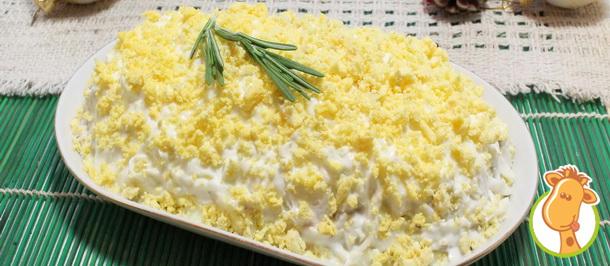 Новогодняя классика – салат Мимоза