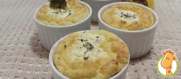 Горячая закуска в новогоднем меню: картофель-суфле