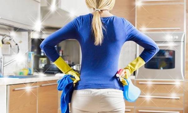 как отмыть кухонную мебель